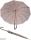 M&P eleganter leichter Damen Stockschirm - Regenschirm 12 teilig manual  - Liso flieder