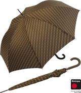 Knirps Regenschirm Edition Nimbus Long -  Stockschirm brown