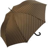 Knirps Regenschirm Edition Nimbus Long -  Stockschirm brown