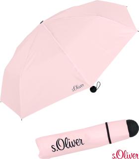 s.Oliver Mini Schirm Damen Taschenschirm Fruit Cocktail - rose