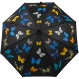 Stockschirm mit Automatik - Tanzende Schmetterlinge UV-Protection
