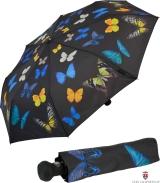 Taschenschirm mit Automatik - Tanzende Schmetterlinge...