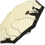 Taschenschirm mit Automatik und UV-Schutz- Schwarze Katzen