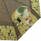 Mini Taschenschirm mit Automatik und UV-Schutz Gustav Klimt Der Kuss