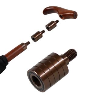 Distanzstück passend zu den höhenverstellbaren M&P und ix-brella Stützschirmen