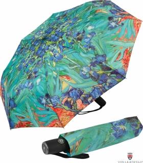 Taschenschirm Auf- Automatik Motiv Vincent van Gogh - Iris
