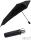 senz Taschenschirm - stabil und sturmfest - Auf-Zu-Automatik - pure black