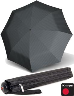 Knirps Herren-Taschenschirm Topmatic SL Gents Prints grey Line