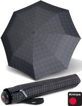 Knirps Herren-Taschenschirm Topmatic SL Gents Prints grey...
