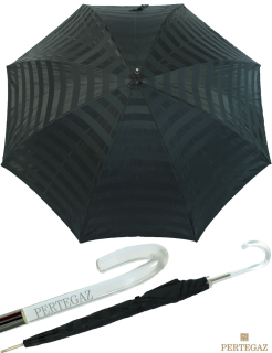 Eleganter leichter Damen Stockschirm von PERTEGAZ - glamour black