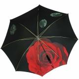 Doppler Manufaktur Regenschirm Elegance Noblesse Rose rot
