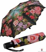 Taschen- Regenschirmschirm Rosengarten UV-Protection