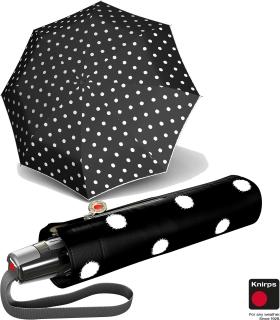 Knirps Taschenschirm Mini Fiber T2 duomatic Auf-Zu-Automatik - dot art black