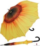 Regenschirm Automatik Schirm - Sonnenblume - UV Protection