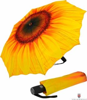 Taschenschirm Sonnenschirm mit Automatik - Sonnenblume - UV Protection