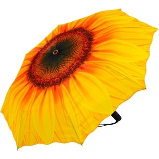 taschenschirm sonnenschirm mit automatik sonnenblume