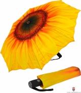 Taschenschirm Sonnenschirm mit Automatik - Sonnenblume -...