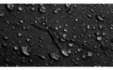 iX-brella Herren-Taschenschirm, schwarz, mit Auf-Zu-Automatik und Rundhakengriff mit Holzoptik