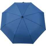 iX-brella stabiler Taschenschirm Mini Regenschirm mit Auf-Zu-Automatik - mid class blau