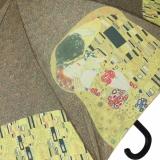 Regenschirm Stockschirm Automatik - Gustav Klimt - Der Kuss UV-Protection
