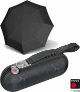 Knirps Taschenschirm Supermini Regenschirm X1 splash schwarz