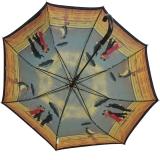 Regenschirm Jack Vettriano Singing Butler mit Doppelbespannung UV-Protection