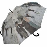 Regenschirm AC Gustave Caillebotte Paris im Regen UV-Protection