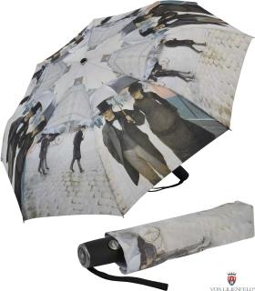Taschen- Regenschirm Schirm - Gustave Caillebotte Paris im Regen UV-Protection