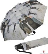 Taschen- Regenschirm Schirm - Gustave Caillebotte Paris...