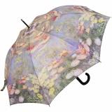 Regenschirm Long Automatik - Claude Monet Seerosen...