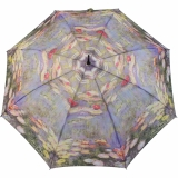 Regenschirm Long Automatik - Claude Monet Seerosen UV-Protection
