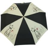 Mini Taschenschirm Regenschirm Guy de Jean Minou und Minette