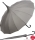 Regenschirm Sonnenschirm Long Pagode UV-Protection Charlotte grau