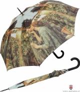Regenschirm Automatik John William Waterhouse My sweet Rose UV-Protection