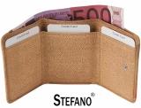 Stefano - Handbemalte Minibörse mit Überschlag - Damen - Leder - grün