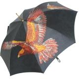 Doppler Regenschirm Lady Noblesse Adler schwarz