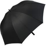 Regenschirm Golfschirm XXL Fiberglas Automatik - 132cm schwarz