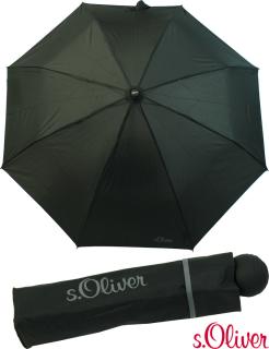 s.Oliver Mini Taschenschirm - Fruit Cocktail -neu- schwarz