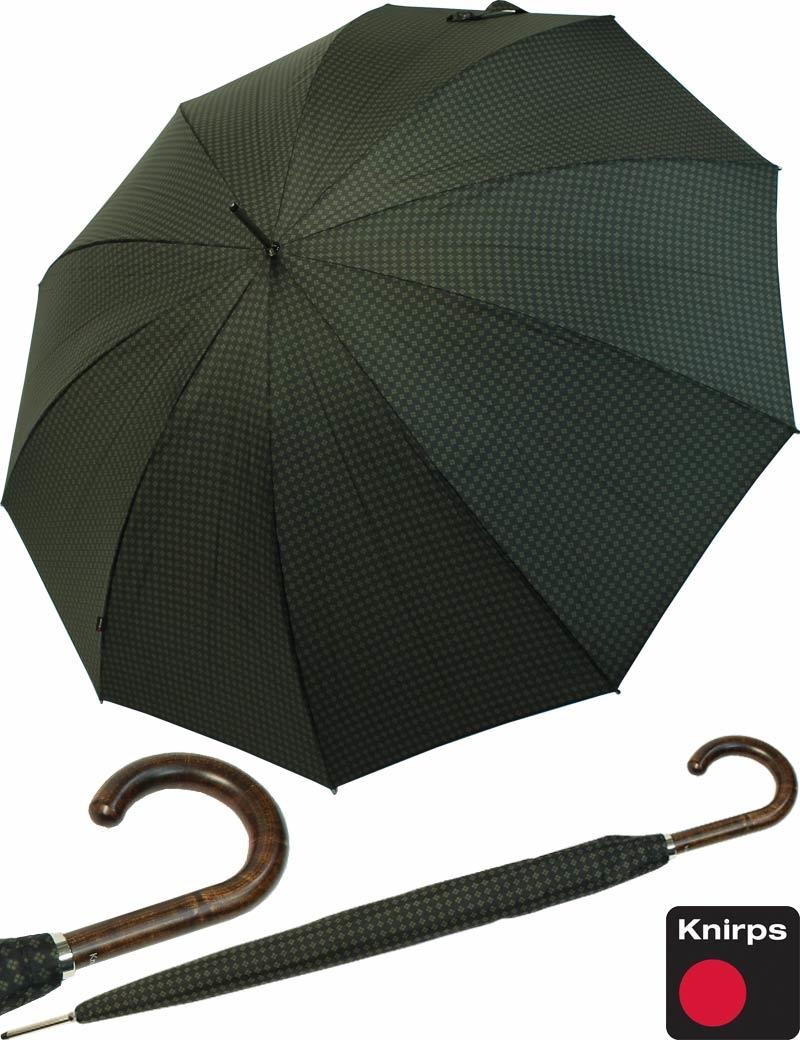 ESPRIT Gents Long AC Black Schirm Regenschirm Stockschirm Herren Black Schwarz