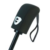 iX-brella first class Automatik - stabiler großer Taschenschirm mit Etui - schwarz