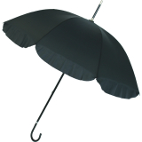 Doppler Manufaktur Regenschirm handgearbeitet - Wien mit Volant