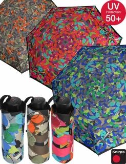 Knirps Mini Taschenschirm Piccolo UV-Protection Spring Time