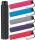 Super Mini Damen Taschenschirm Flash manual - Dots