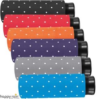 Ultra Mini Taschenschirm Damen Regenschirm Flash - Dots