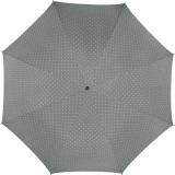 Mini-Taschenschirm Damen Flash Auf-Automatik - Dots grau