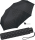Super Mini Damen Taschenschirm Flash manual - Dots schwarz