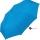 Super Mini Damen Taschenschirm Flash manual - Dots hellblau