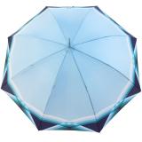 Doppler Damen Stockschirm Carbonsteel mit  Automatik Cross Over blau