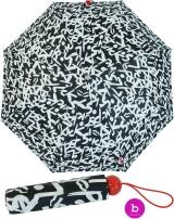 Bisetti Taschenschirm Regenschirm für Damen klein...