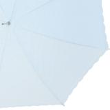 Hochzeitsschirm leicht und elegant mit Spitze und Borte